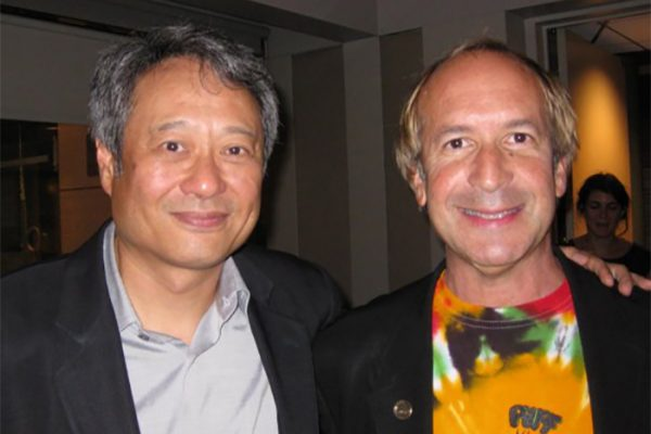 "Oscar winner Ang Lee & Larry- ""Brokeback Mountain"" premiere afterparty. New York."