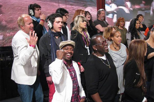 We Are The World 25 for Haiti- Henson Studios Los Angeles, California.